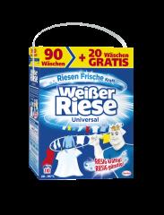 Weißer Riese pralni prašek Universal, 7,15 kg, 90 + 20 pranj