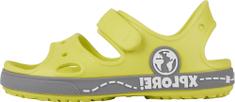 Coqui otroški sandali Yogi Citrus/Mid. grey 8861-407-1348, 26/27, rumeni
