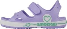 Coqui dekliški sandali Yogi Lt. lila/White 8861-406-0232, 26/27, vijolični