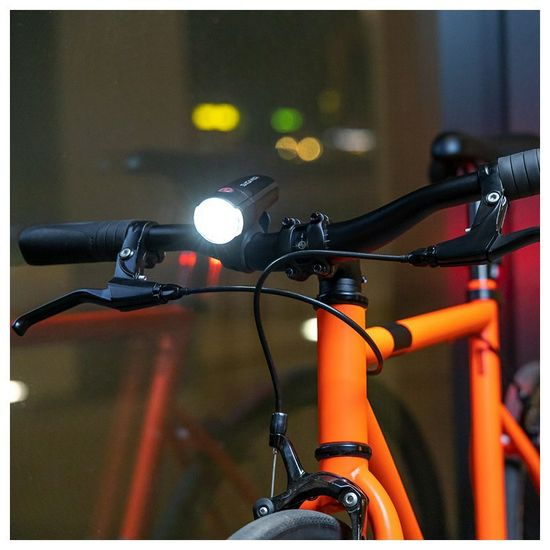 Sigma Aura 30 sprednja luč za kolo, črna