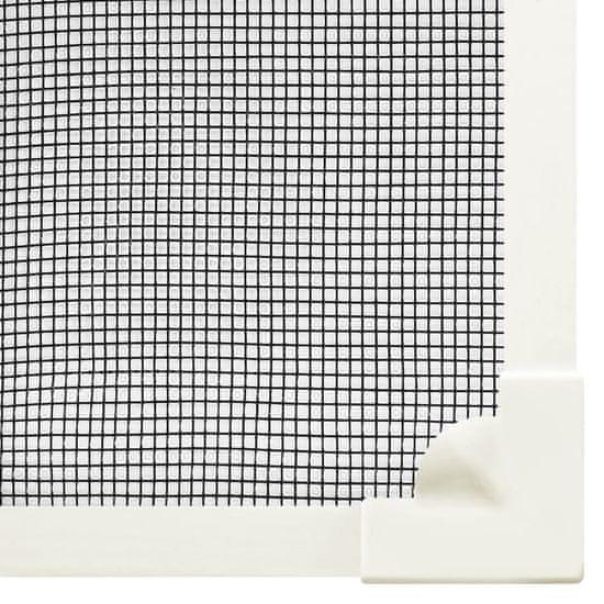 Petromila Magnetická okenná sieťka proti hmyzu biela 80x140 cm sklolaminát