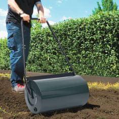shumee Valjar za travo zelen in črn 57 cm 43 L