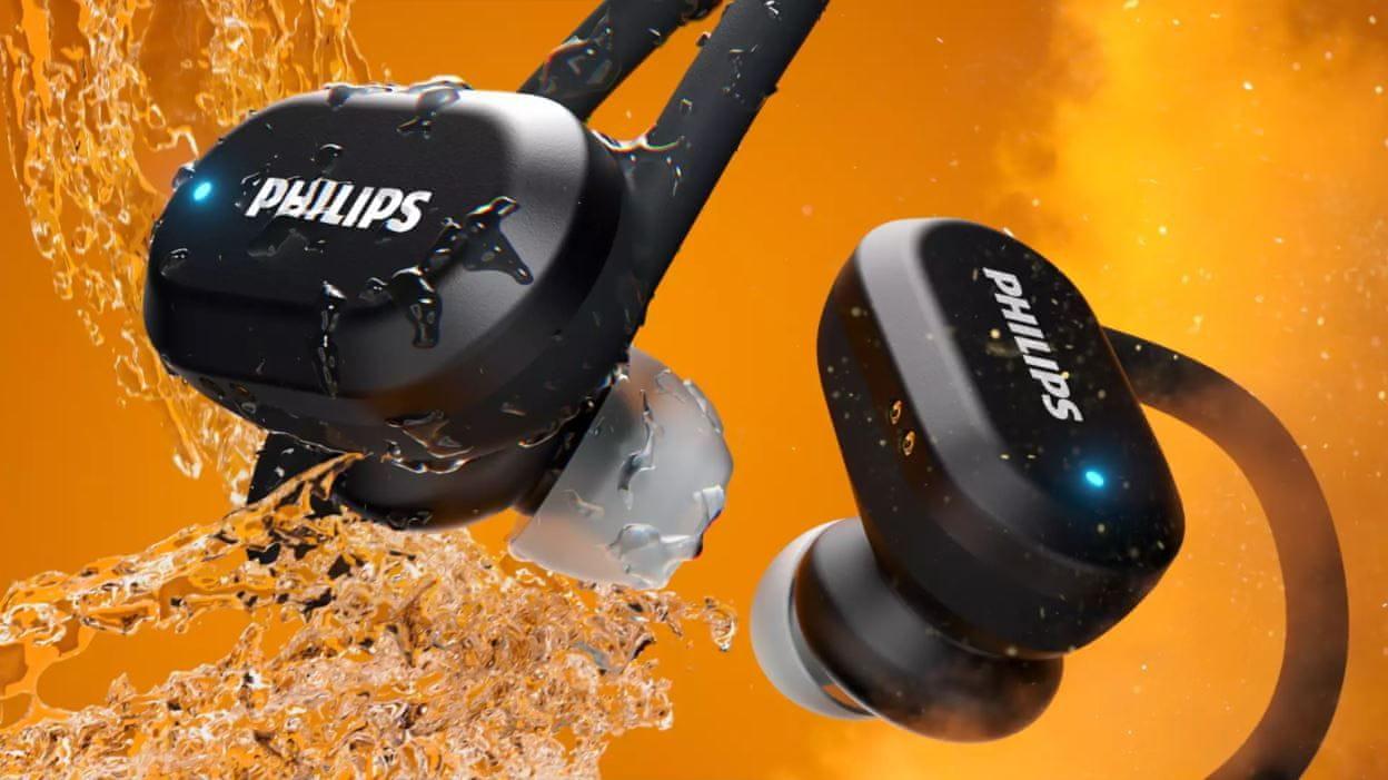 moderne bluetooth slušalice philips taa7306 podržavaju glasovne asistente vodonepropusni ormar za punjenje dug život ugodan u ušima snažni pretvarači kontrola dodira handsfree funkcija moderan dizajn