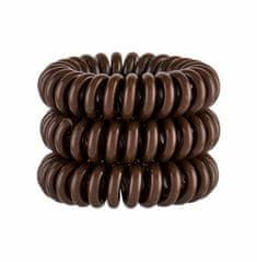 Invisibobble 3ks power hair ring, pretzel brown