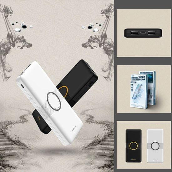 Proda Boyi brezžično Power Bank 10000mAh, črna
