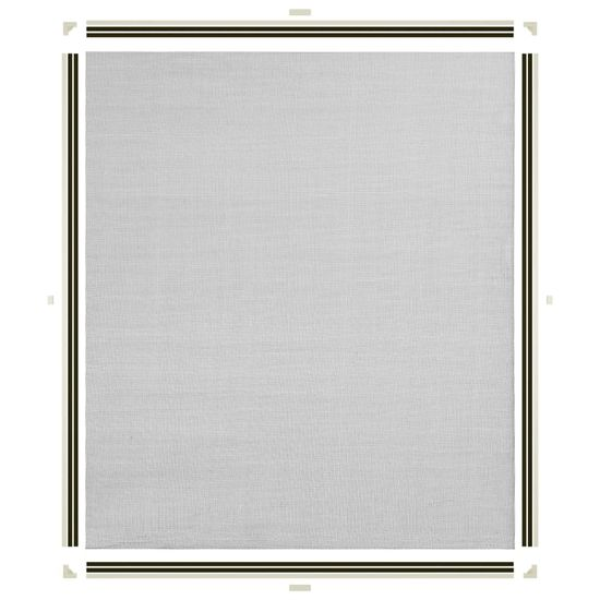 shumee Magnetyczna moskitiera okienna, biała, 130x150 cm