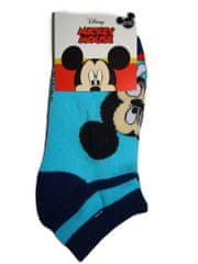 Mickey Mouse Kotníčkové modré ponožky myšákem Vel:23-26