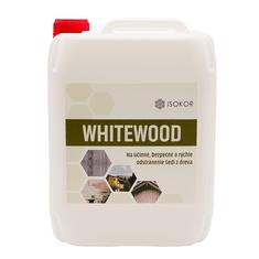 Isokor WhiteWood - na čistenie zašednutého dreva - 5000ml