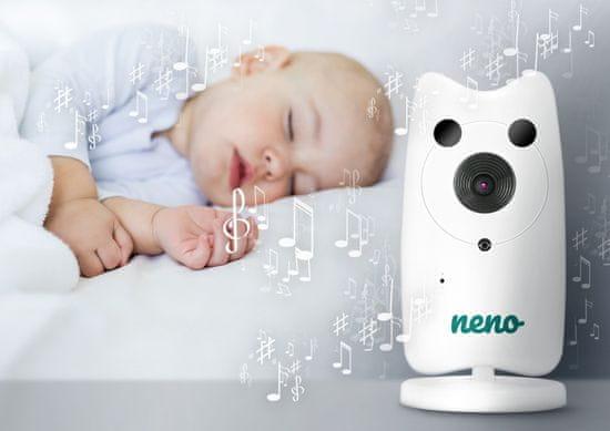 Neno niania elektroniczna Gato video baby monitor