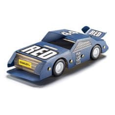 Stanley Stavebnice, závodní auto, dřevo OK013-SY