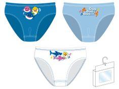 Disney Majtki chłopięce 3pack Baby Shark SK13536 98/104 niebieskie