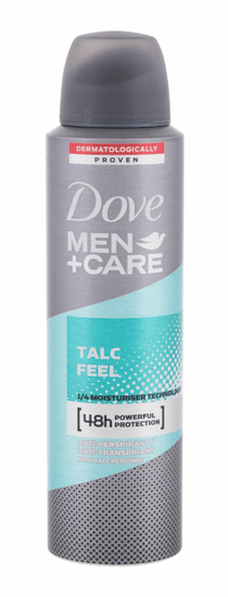 Dove 150ml men + care talc feel 48h, antiperspirant