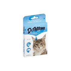 Dr.Peticon Pipeta proti klíšťatům a blechám pro kočky 5x1 ml