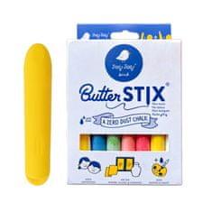Jaq Jaq Bird Sada 12 farebných kried ButterStix s držadlom