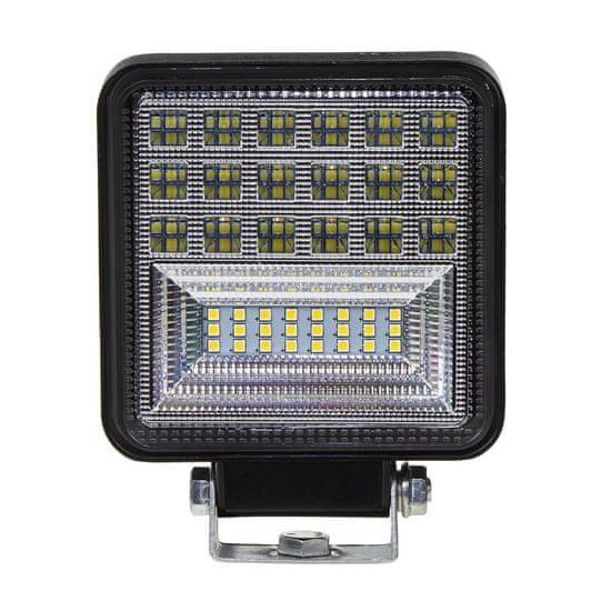 LED svetlo na pracovné stroje - 42x3W LED / 10-30V ECE R10