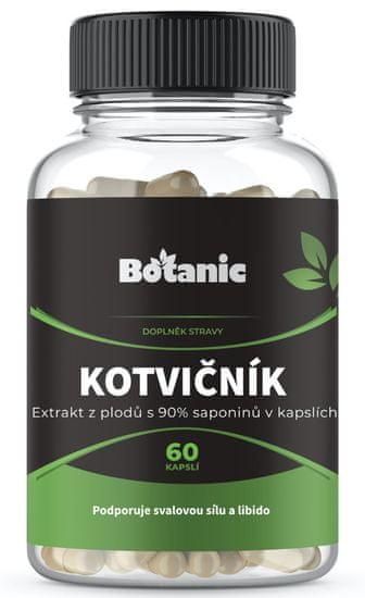 Botanic Kotvičník (Tribulus) 90% saponinů 60 kapslí