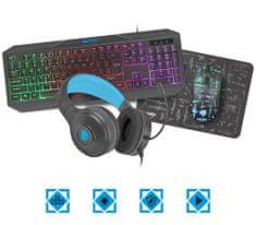 FURY Gaming Thunderstreak 3.0 gaming komplet, 4-v-1