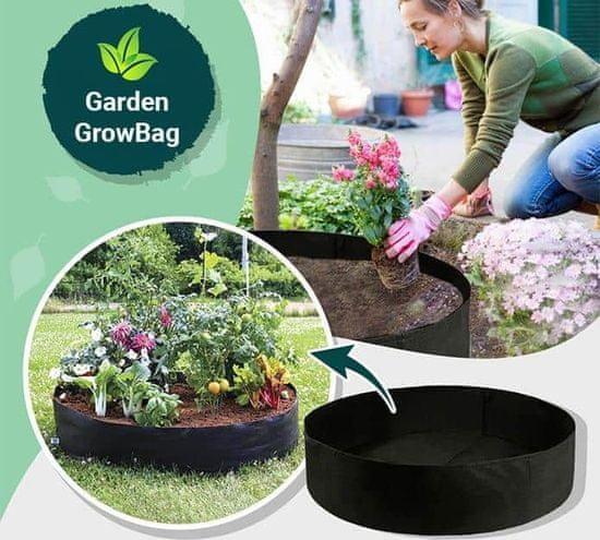 Netscroll Rabatka ogrodowa wykonana z materiału zapewniającego bujny wzrost wszystkich rodzajów roślin, Garden GrowBag