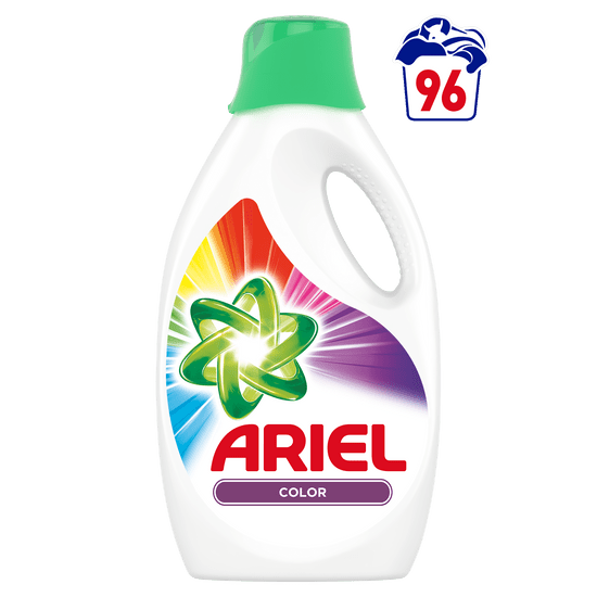 Ariel Color Reveal folyékony mosószer 5,28 l, 96 mosás