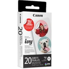 Canon Zink Circle foto papir, 20 pack, za Zoemini