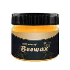 Netscroll Včelí vosk na obnovu dřevěného nábytku, parket nebo laminátu, WoodWax