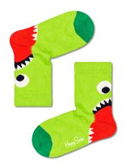 Happy Socks Kids Hungry Heel Sock gyermek zokni, 24- 26, zöld