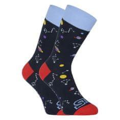 Styx Veselé ponožky vysoké Planety (H1057) - velikost XL