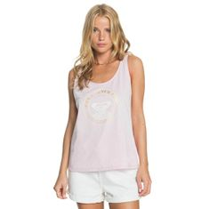 Roxy Ženska majica brez ERJZT05120 Closing Party Corpo ERJZT05120 - MDZ0 (Velikost XS)
