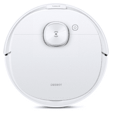 Ecovacs Deebot N8 Pro robotski sesalnik, bel