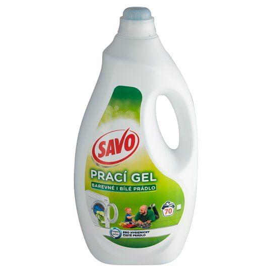 Savo Mosógél fehér és színes ruhákhoz 3,5 l (70 mosás)