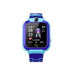 Alum online Detské chytré hodinky s kamerou a GPS lokátorom - modrá