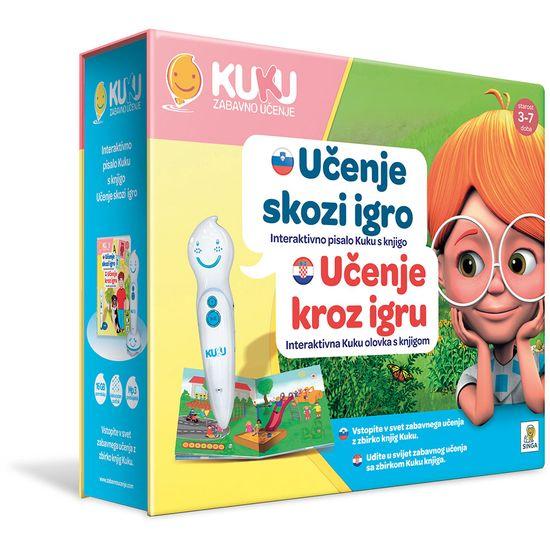 Kuku Zabavno Učenje interaktivno pisalo Kuku s knjigo, Učenje skozi igro