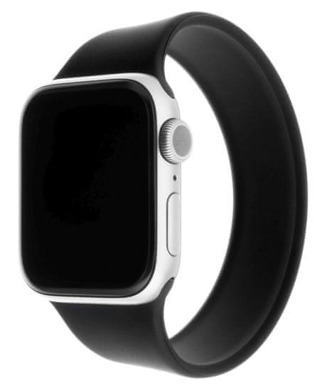 FIXED Silicone Strap remen za Apple Watch 42/44 mm, veličine S, silikonski, crn (FIXESST-434-S-BK)