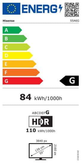 Hisense 55A6G