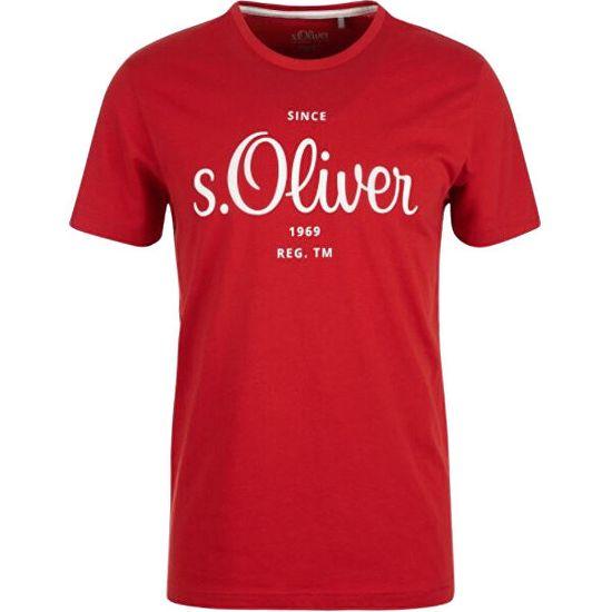 s.Oliver Pánské triko Regular Fit 13.106.32.X477.3118