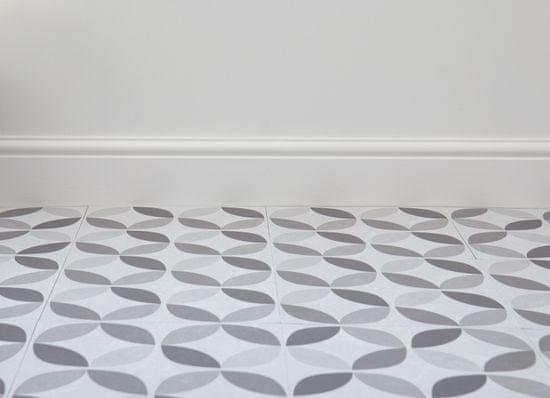 d-c-fix Samolepicí podlahové čtverce šedobílé 274-5056