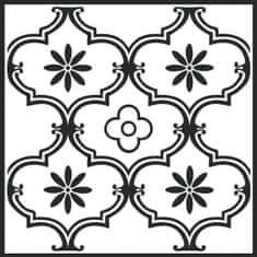 d-c-fix Samolepicí podlahové čtverce černobílé 274-5052