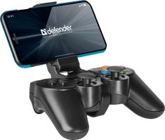 Defender brezžični igralni plošček Crusher USB, Bluetooth, Android, Li-Ion, črn