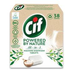 Cif EKO tablety do myčky All-in-1 38 tablet