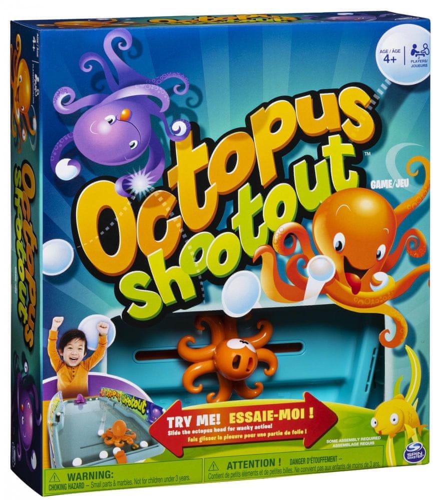 Spin Master Chobotnice dětská společenská hra