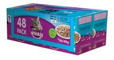 Whiskas kapsičky rybí výběr v želé pro dospělé kočky 48 x 100g