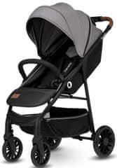 Lionelo wózek spacerowy Zoey 2021 grey stone