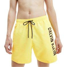 Calvin Klein Moške plavalne kratke hlače KM0KM00673-ZHR (Velikost S)