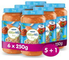 Nestlé NaturNes BIO Špagety Bolognese 6x 250g