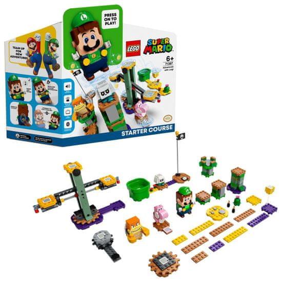 LEGO Super Mario 71387 Kaland Luigi-val - indítókészlet