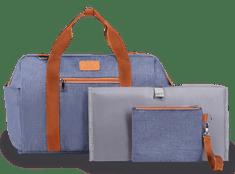 Lionelo previjalna torba za otroški voziček, ida blue denim