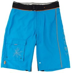 MAYA MAYA Moške bermuda hlače, kratke hlače za kopanje, surf hlače - Pirania, modre, S