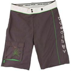 MAYA MAYA Moške bermuda hlače, kratke hlače za kopanje, surf hlače - Pirania, sive, XL