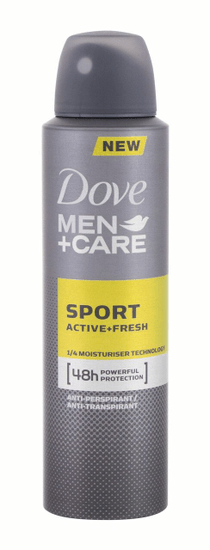 Dove 150ml men + care sport active + fresh, antiperspirant