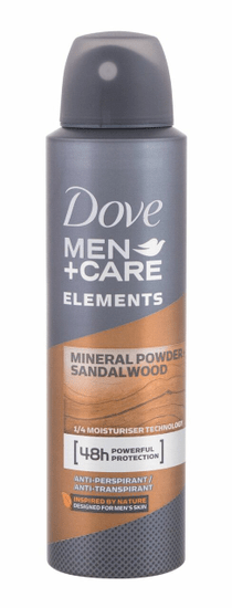 Dove 150ml men + care elements mineral + sandalwood 48h